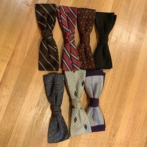 Other - Vintage clip on bow ties